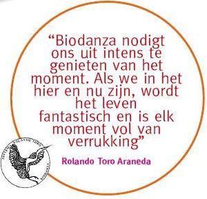 Biodanzaschool Rotterdam - Quote Ronaldo Torro